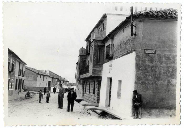 Lucillos. Calle Héroes del Alcázar. 1959 (P-2651)
