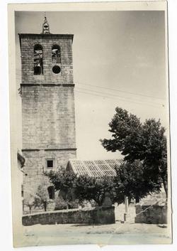 La Iglesuela. Iglesia Ntra. Sra. de la Oliva. 1959 (P-352)