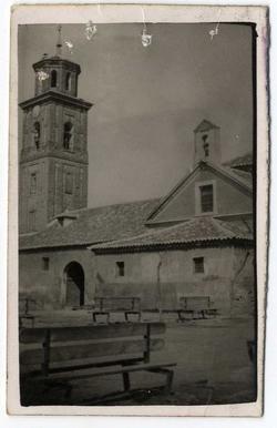 La Pueblanueva. Iglesia Ntra. Sra Encarnación. 1960 (P-422)