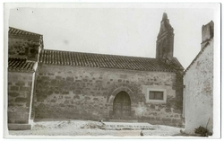 Las Ventas de San Julian. Iglesia San Julián. 1960 (P-1515)