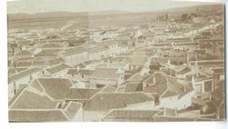 Mora. Caserío de la localidad. 1959 (P-560)