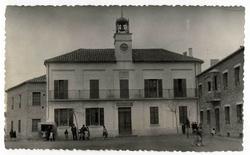 Malpica de Tajo. Casa Ayuntamiento. 1959 (P-2671)