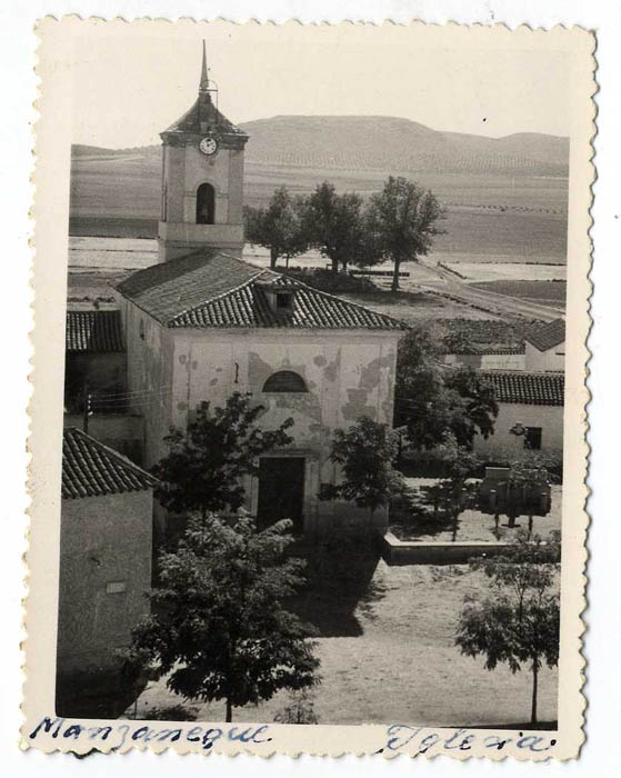 Manzaneque. Iglesia Ntra. Sra. de la Asunción. 1959 (P-2677)