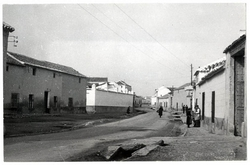 Mascaraque. Calle Real. 1959 (P-2686)