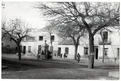Mascaraque. Plaza del Generalísimo. 1959 (P-2687)