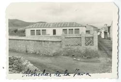 Mohedas de la Jara. Vista de las escuelas. 1959 (P-529)
