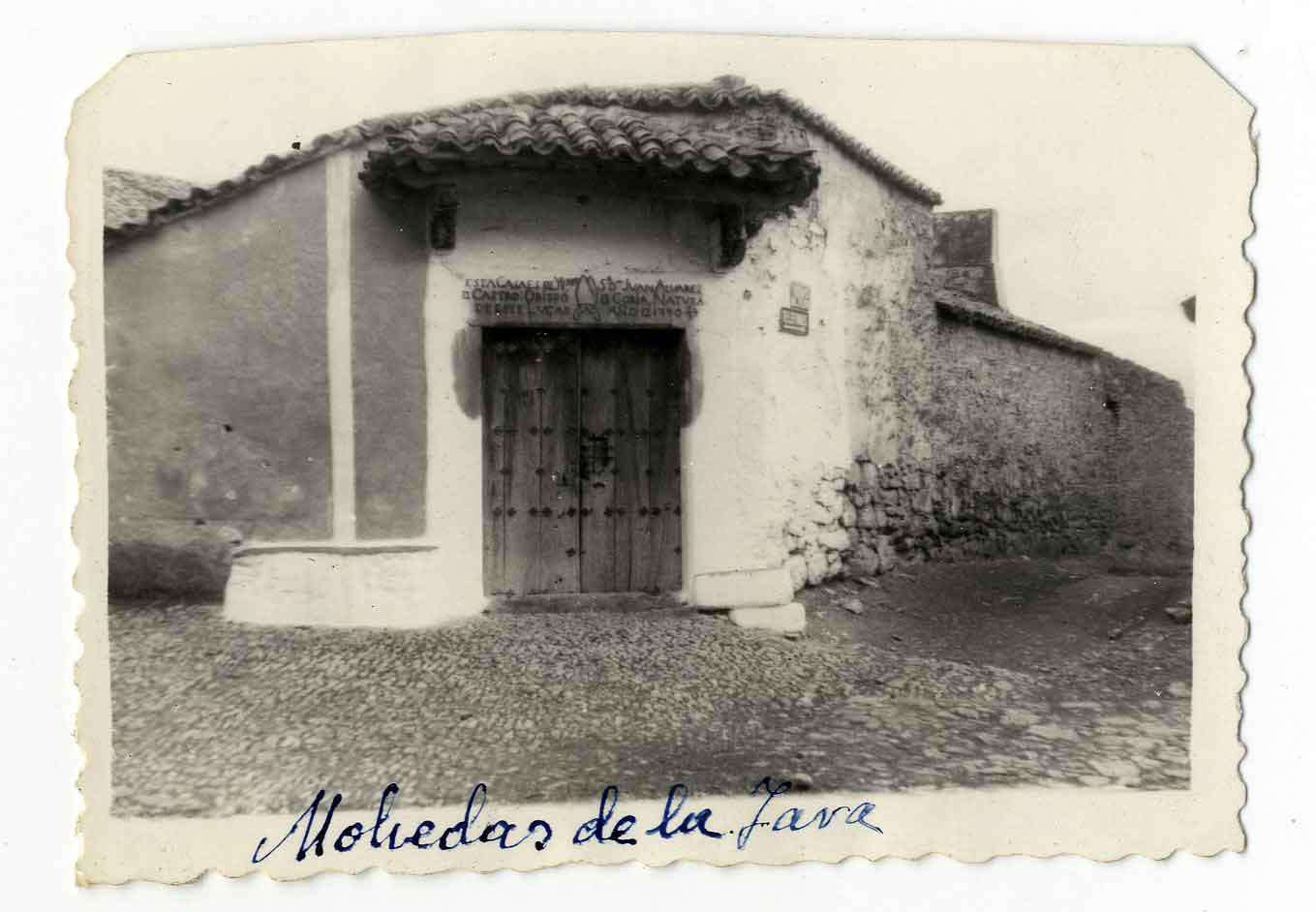 Mohedas de la Jara. Casa del obispo Alvárez. 1959 (P-533)
