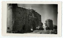 Maqueda. Puerta del castillo de San Silvestre. (P-2681)