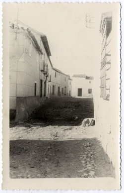 Marjaliza. Calle Real. 1959 (P-2683)