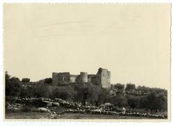Mejorada. Vista del castillo. 1959 (P-2700)