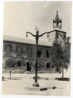 Navahermosa. Plaza del Generalísimo. 1959 (P-581)