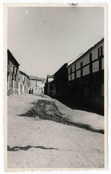 Noez. Calle de José Antonio. 1959 (P-599)