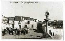 Nombela. Plaza del Generalísimo. 1959 (P-601)
