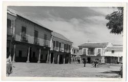 Orgaz. Plaza del Generalísimo. 1960 (P-677)
