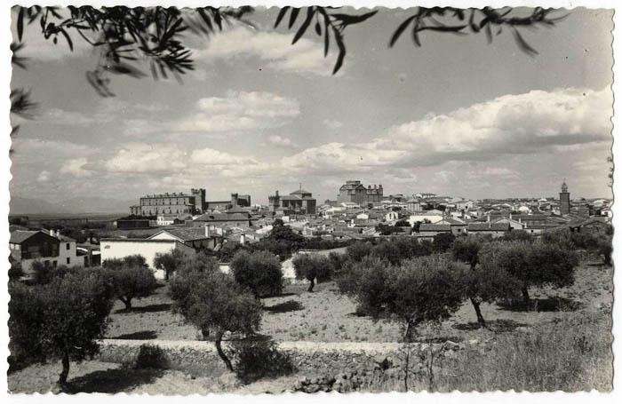 Oropesa. Vista panorámica. 1960 (P-706)