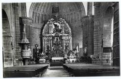 Oropesa. Interior de la iglesia de la Asunción. 1960 (P-700)