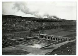 Ocaña. Vista general de la Fuente Grande. 1966 (P-2602)