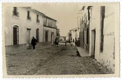 Portillo de Toledo. Calle de Queipo de Llano. 1960 (P-748 )