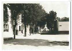 Quero. Calle del Generalísimo. 1975 (P-778)