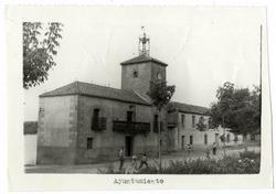 San Martín de Montalbán. Casa Ayuntamiento. 1960 (P-793)
