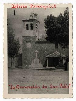 San Pablo de los Montes. Iglesia parroquial. 1960 (P-796 )