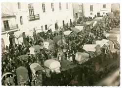 Santa Cruz de la Zarza. Mercadillo tradicional. 1930 (P-812)