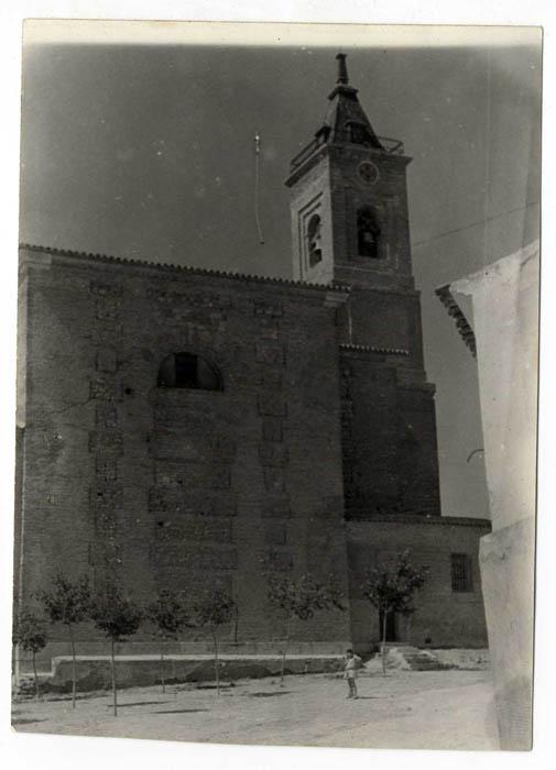 Seseña. Iglesia Ntra. Sra. de la Asunción. 1960. (P-839)
