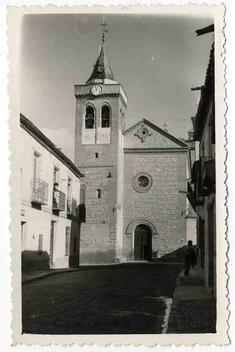 Sonseca. Iglesia de San Juan Evangelista. 1960 (P-848)