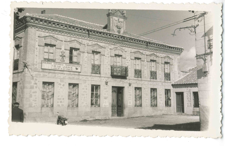 Sonseca. Casa Ayuntamiento. 1960 (P-847)