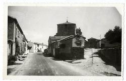 Torralba de Oropesa. Entrada a la localidad. 1960 (P-1397)