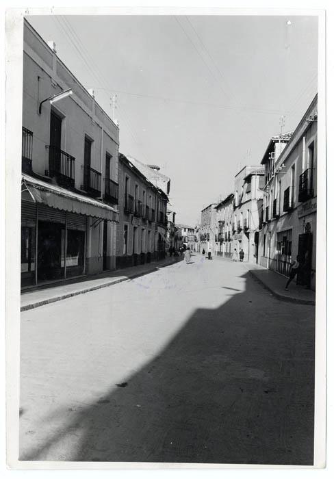 Torrijos. Calle Mayor. 1960 (P-1403)