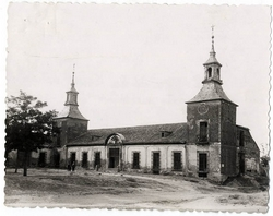 Ugena. Palacio de los Condes de Ugena. 1960 (P-1425)