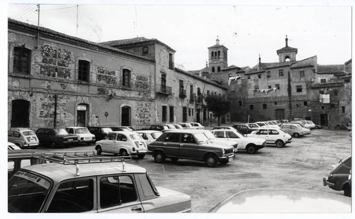Toledo. Plaza de Padilla. 1979 (P-1773)