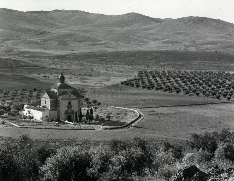 Tembleque. Ermita del Cristo del Valle. 1969 (F-075)