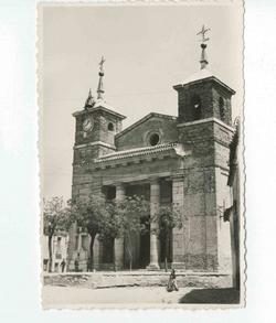 Turleque. Iglesia Ntra. Sra. de la Asunción. 1960 (P-1421)