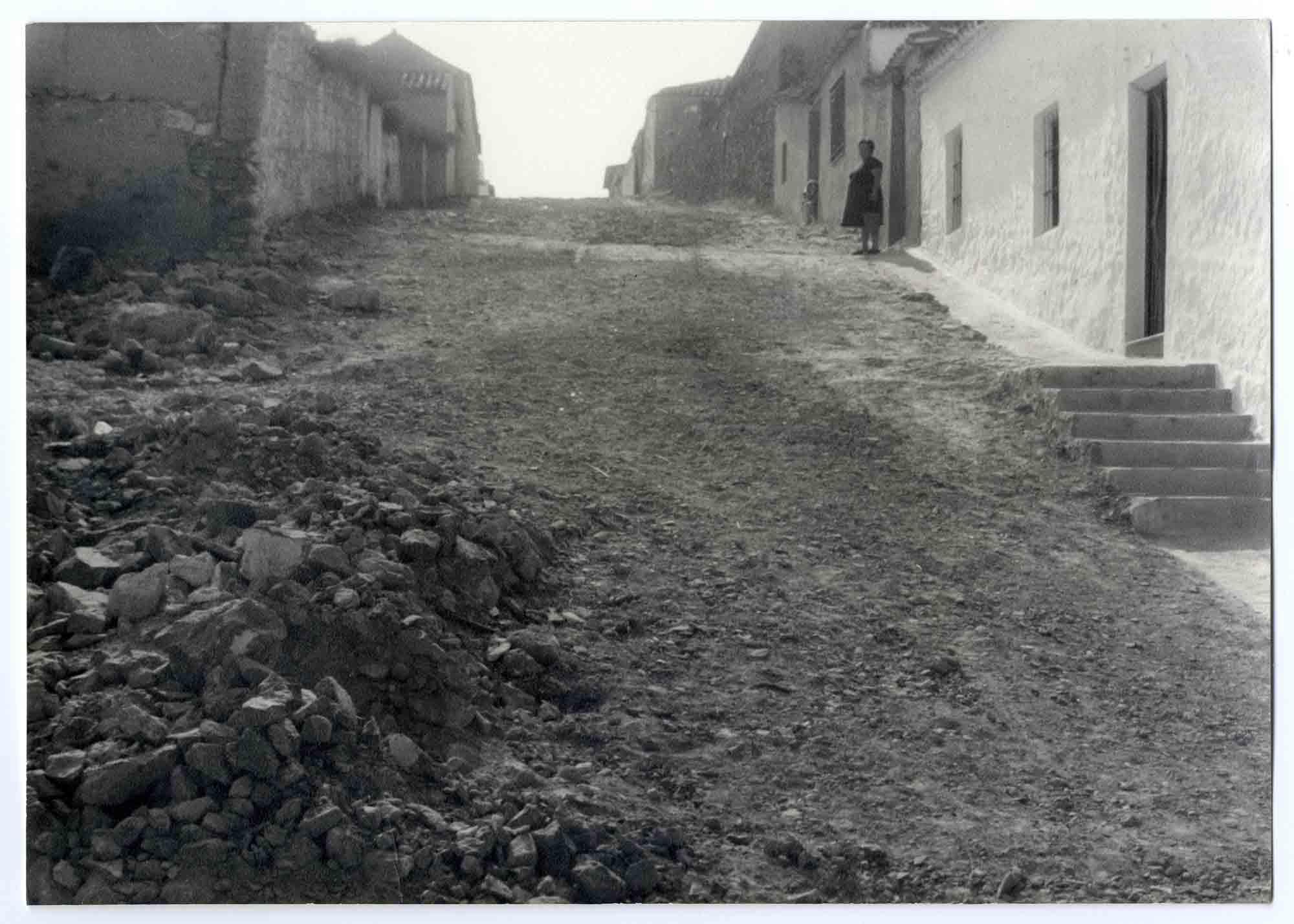 Urda. Calle Colmenares. Hacia 1970 (P-1432)