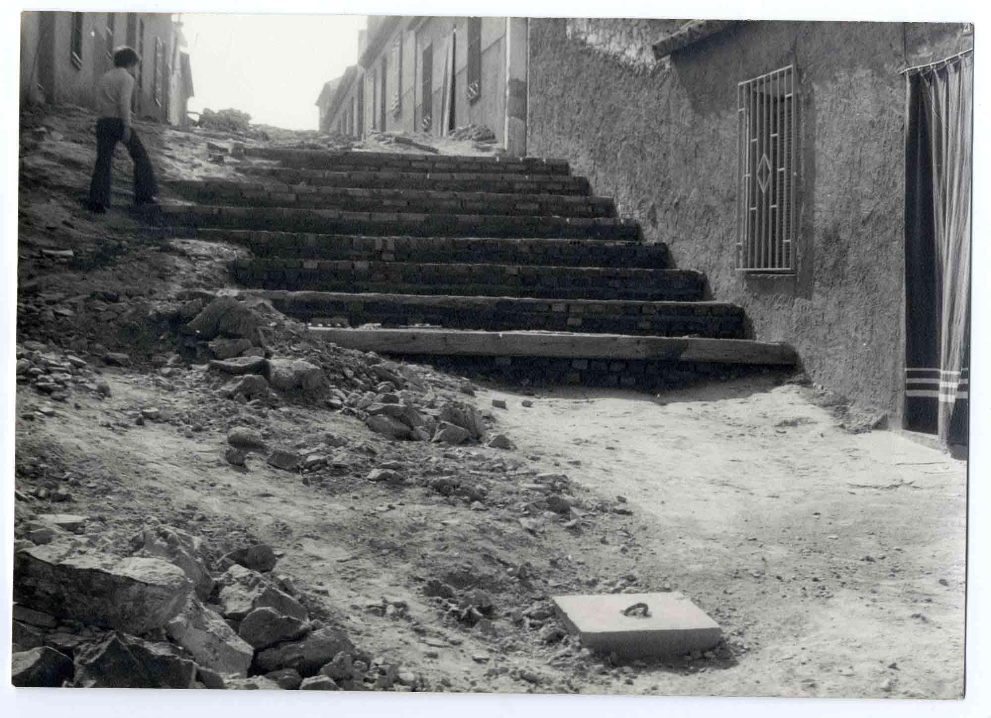 Urda. Calle del Desengaño. Hacia 1970 (P-1433)