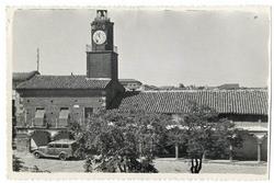 Valdeverdeja. Plaza del Ayuntamiento. 1960 (P-1438)
