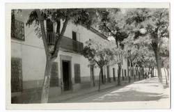 Villanueva de Alcardete. Calle José Antonio. 1960 (P-1491)