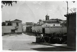Villanueva de Bogas. Calle Fuente. 1972 (P-1507)