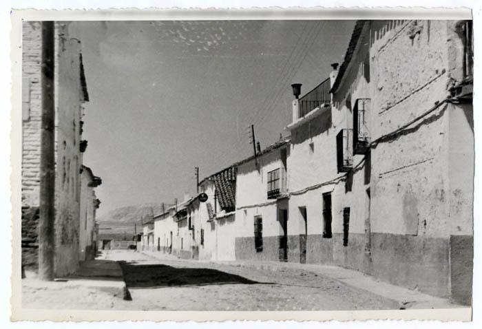 Villaseca de la Sagra. Calle del General Yagüe.1960 (P-1525)
