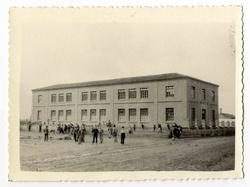 Villafranca de los Caballeros. Escuelas. 1960 (P-1461)