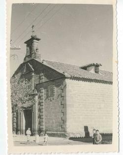 Villafranca de los Caballeros. Ermita. 1960 (P-1463)