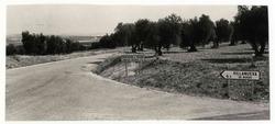 Villanueva de Bogas. Carretera provincial. 1972 (P-1497)