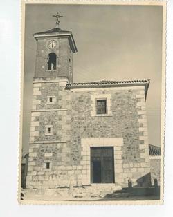 Villanueva de Bogas. Iglesia de Santa Ana. 1960 (P-1518)