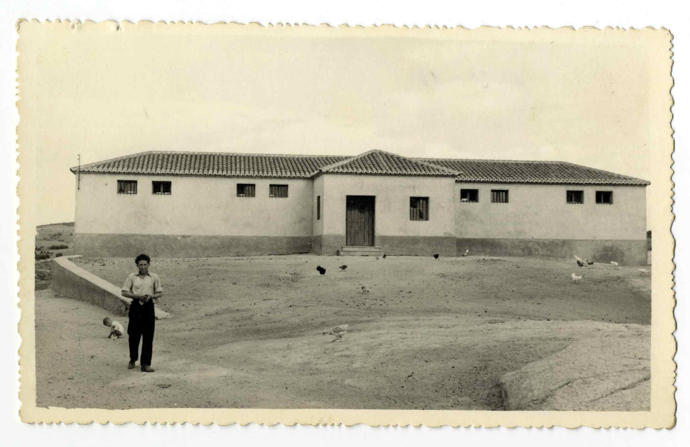 Villarejo de Montalbán. Almacén del trigo. 1960 (P-1522)