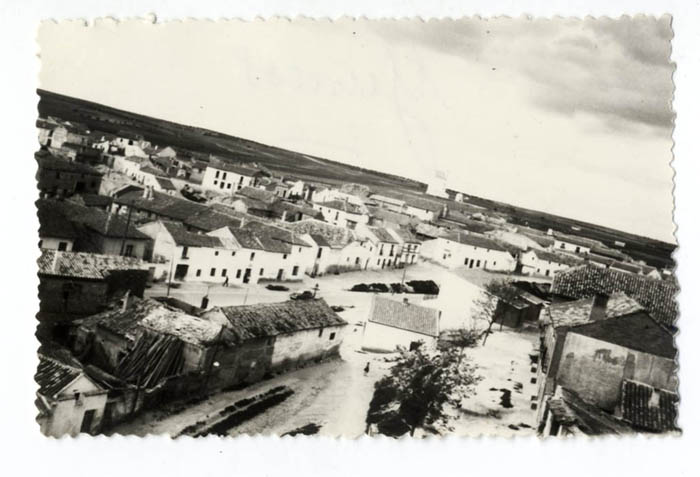 Yuncos. Vista parcial de la localidad. 1960 (P-1546)