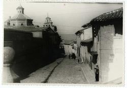La Calzada de Oropesa. Calle del Cristo. 1958 (P-67)