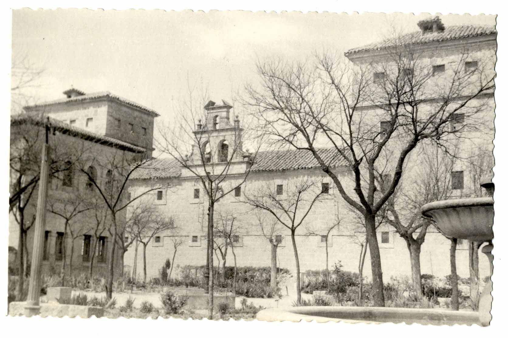 El Toboso. Convento de los Trinitarios. 1960 (P-254)