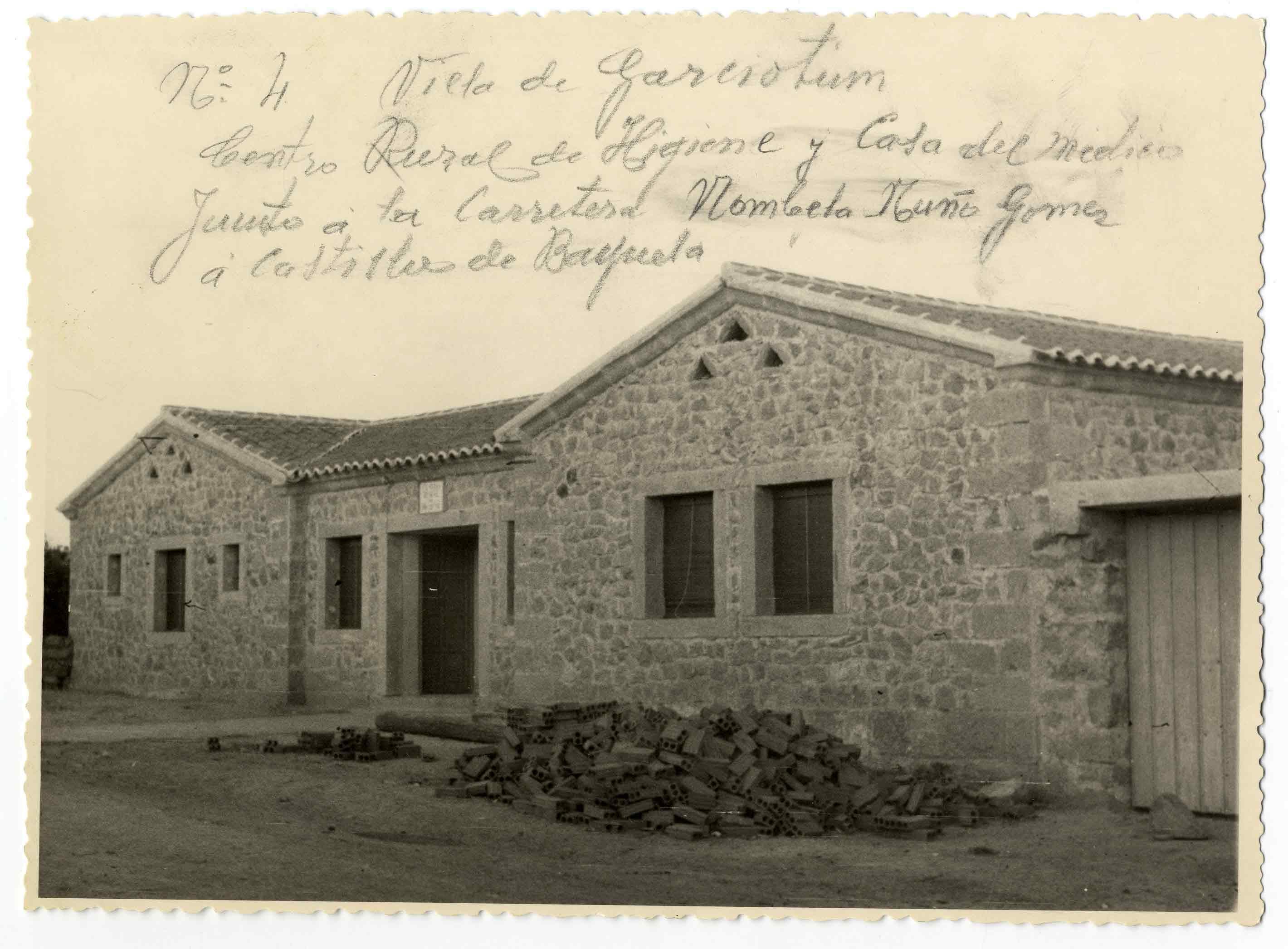 Garciotum. Centro Rural de Higiene. 1959 (P-308)